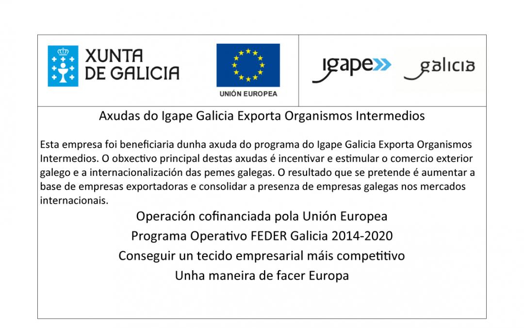 Axudas do Igape Galicia Exporta Organismos Intermedios